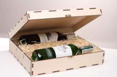 Деревянная коробка, подарочная упаковка,