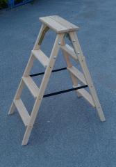 Step-ladder wooden 2х4 steps of STARSTROY