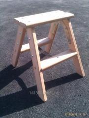 Step-ladder wooden 2х2 steps of STARSTROY
