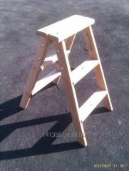 Step-ladder wooden 2х3 steps of STARSTROY