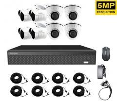 Комплект видеонаблюдения на 8 камер...