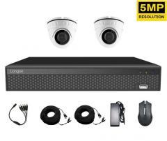 Комплект оборудования для видеонаблюдения 5...