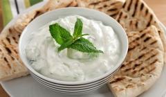 Garlick, white sauce for shawarma.