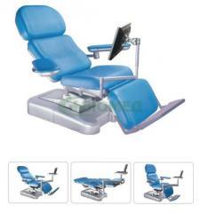 Диализно-донорское кресло, кресло донорское медицинское DH-XD107 Биомед