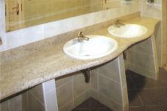Столешницы для ванной из гранита