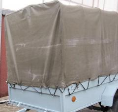 Automobile Awnings having sewed sale delivery