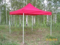 Tent 3mkh3m. Sliding express awning