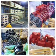 Hydraulic pumps, repair of hydraulic pumps