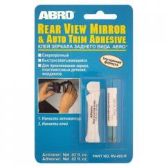 _ABRO Клей для дзеркала заднього виду, RV 495 (1,2
