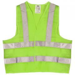 Жилет безпеки світловідбиваючий (green) 116 G XXL