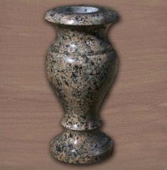 Vases from granite