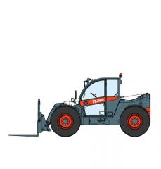 Telescopic loader of BOBCAT TL360