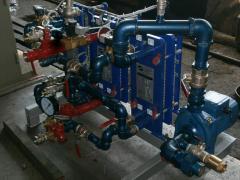 Тепловая станция для регулирования температур