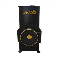 Буржуйка печь дровяная Canada с зольником