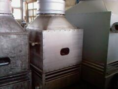 Cooler of 16 cbm