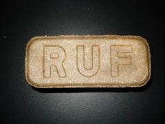 Briquettes RUF made from natural materials