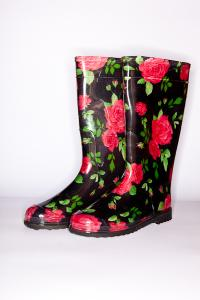 Gumboots with PVC color