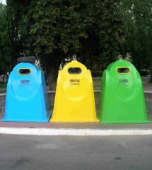 Контейнеры для сбора твердых бытовых отходов