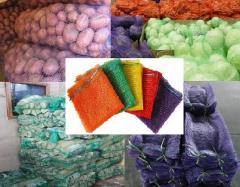 Мешок Сетка (Овощной мешок) 45х75 30кг ЗЕЛЕНЫЙ