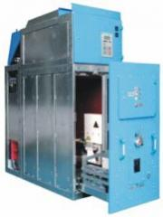 Устройства распределительные среднего напряжения постоянного тока,КРУ серии «КВ» на напряжение 825 В
