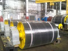 Lining cast of the alloyed steel