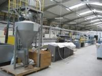 Extrusive line of production of a polypropylene