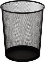 Корзина для бумаг Buromax 19л, черная