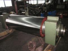 Calender shaft for production of RTI