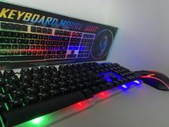 Клавиатура Русская + Мышка KEYBOARD KT-288 ,