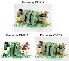 Contactors electromagnetic KT-6012, KT-6013,