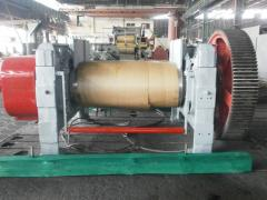 Rollers for production of industrial rubber goods