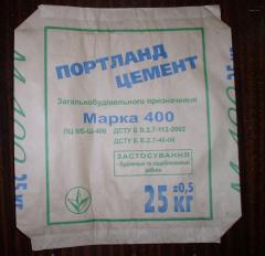 Мешок под портландцемент 25 кг 2-х сл. 40,5х45х9,