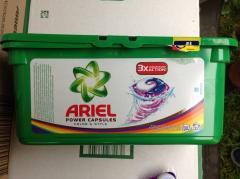 Капсулы для стирки Ariel Power Capsules 3х