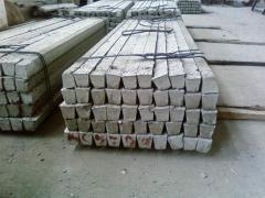 La columna de hormigón armad