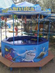 Аттракционы детские  Рыбалочка продажа поставка