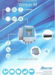 Venton-M - блок управления микроклиматом в
