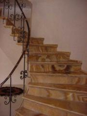 Ladder from granite