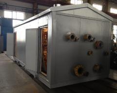 Installation (block) of preparation of the UPTG