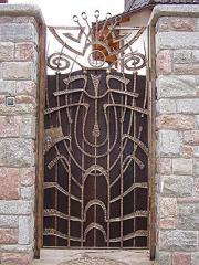Калитки кованые, продажа калиток кованых Украина