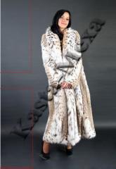 Fur coat from a lynx Italy