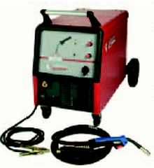 Automatic welding semiautomatic device of MIG 240,