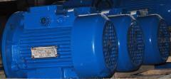Электродвигатель асинхронный трехфазный...
