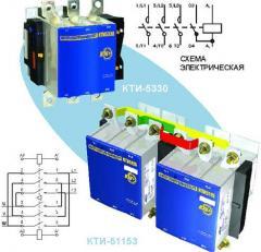 Контакторы электромагнитные серии КТИ, 115-630A