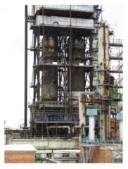 Oil refining equipment. Cradles for coke-oven