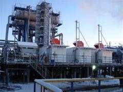 Compressor station of utilization of the