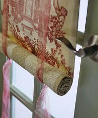 Tailoring of the Chinese curtains