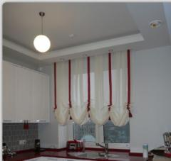Tailoring of the Austrian curtains