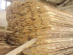 Dry not cut pine
