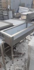 Ванна мийна 1-секційна коллективна 1000х600х850мм