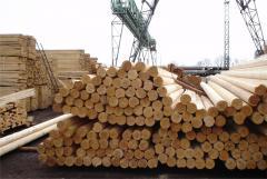 Bar cut pine